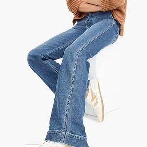 NWT J. Crew wide leg trouser jeans size 25